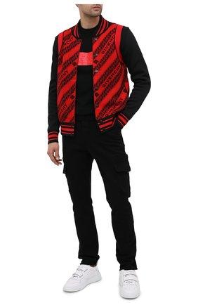 Мужской шерстяной джемпер GIVENCHY черного цвета, арт. BM90EG4Y5D | Фото 2