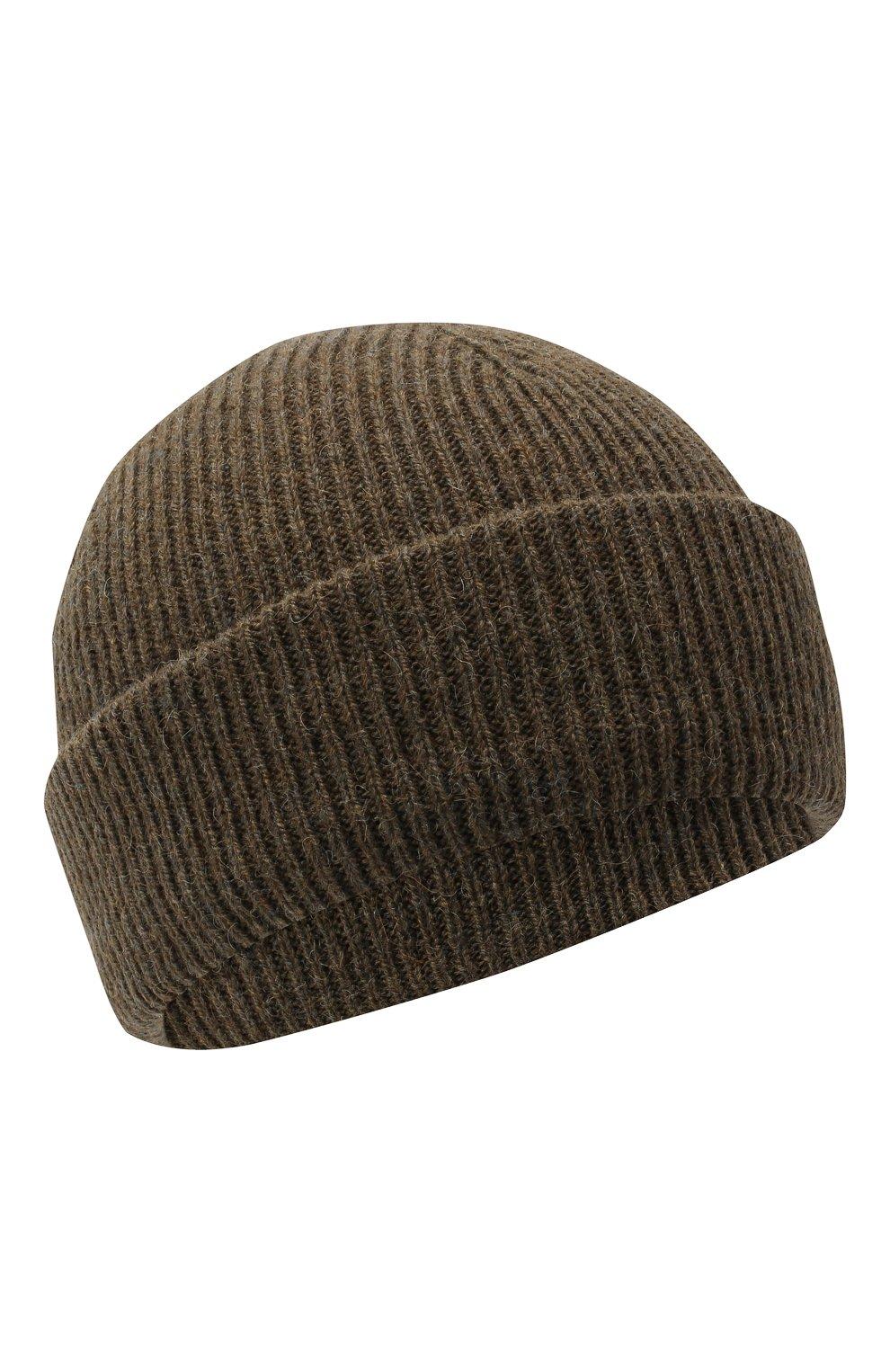 Мужская шерстяная шапка INVERNI хаки цвета, арт. 4997CM | Фото 1