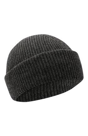 Мужская шерстяная шапка INVERNI темно-серого цвета, арт. 4997CM | Фото 1