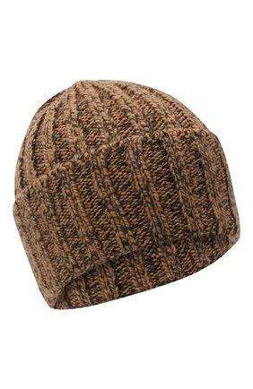 Мужская шерстяная шапка INVERNI коричневого цвета, арт. 5000CM | Фото 1