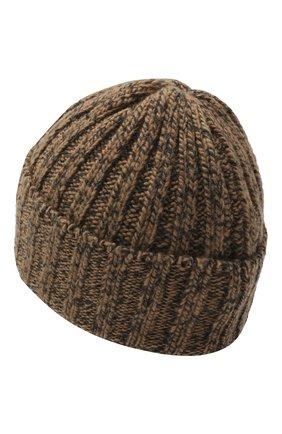 Мужская шерстяная шапка INVERNI коричневого цвета, арт. 5000CM | Фото 2