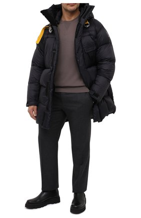 Мужской шерстяной джемпер BRIONI темно-бежевого цвета, арт. UMQ90L/09K07 | Фото 2