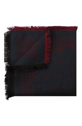 Мужской платок из шерсти и шелка BRIONI бордового цвета, арт. 071E00/0942P | Фото 1