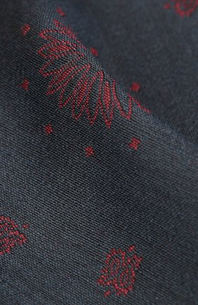 Мужской платок из шерсти и шелка BRIONI бордового цвета, арт. 071E00/0942P | Фото 2