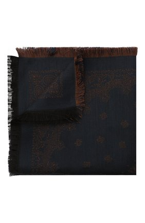 Платок из шерсти и шелка | Фото №1