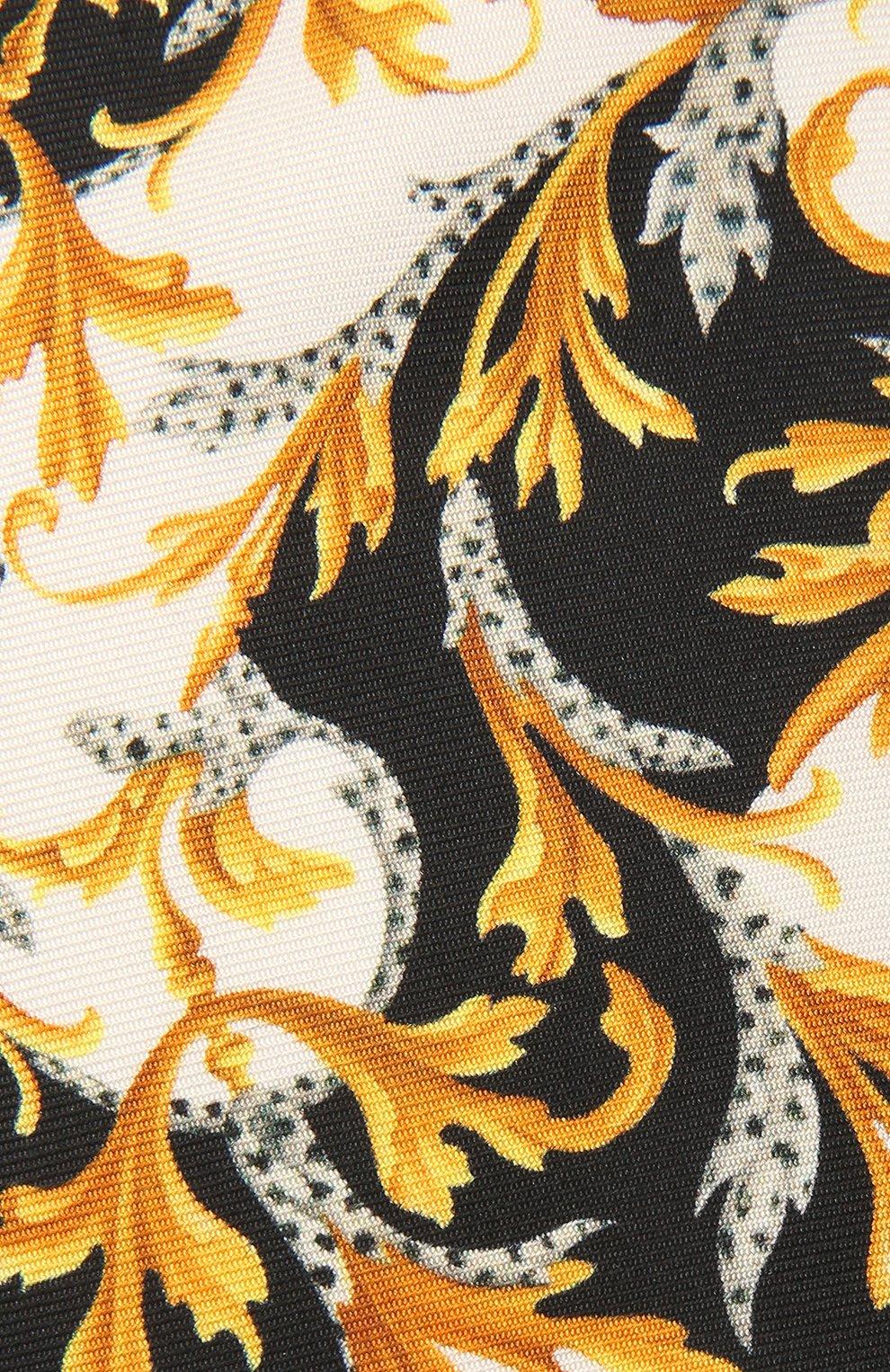 Мужской шелковый галстук VERSACE разноцветного цвета, арт. ICR7001/A236228   Фото 3