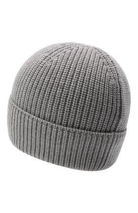 Мужская шерстяная шапка CANADA GOOSE серого цвета, арт. 5026M | Фото 2