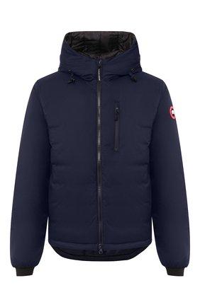 Мужская пуховая куртка lodge CANADA GOOSE темно-синего цвета, арт. 5078M   Фото 1