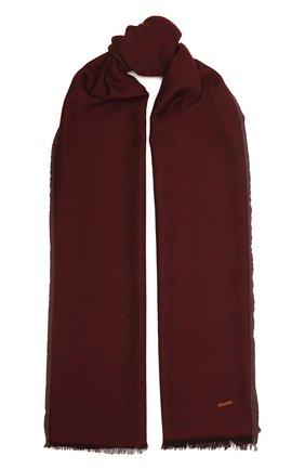 Мужской шарф из шерсти и кашемира ZEGNA COUTURE коричневого цвета, арт. Z8L61/28G | Фото 1