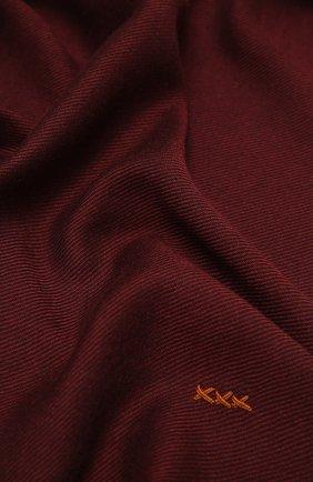 Мужской шарф из шерсти и кашемира ZEGNA COUTURE коричневого цвета, арт. Z8L61/28G | Фото 2