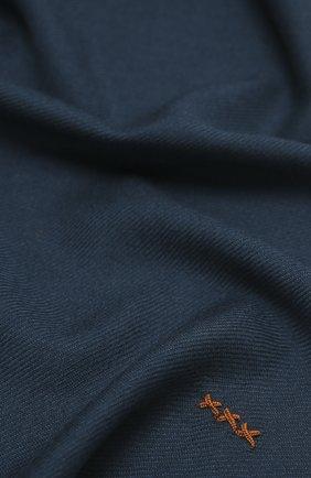 Мужской шарф из шерсти и кашемира ZEGNA COUTURE бирюзового цвета, арт. Z8L61/28G | Фото 2