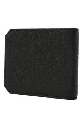 Мужской кожаное портмоне SANTONI черного цвета, арт. UFPPA1393F0-HMA1N01   Фото 2