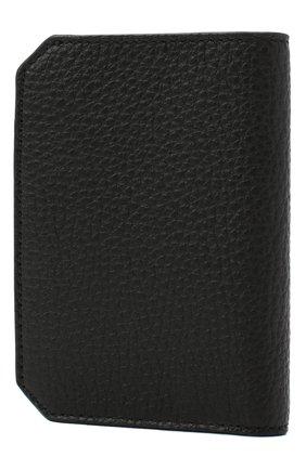 Мужской кожаный футляр для кредитных карт SANTONI черного цвета, арт. UFPPA2024F0-HMA1N01   Фото 2