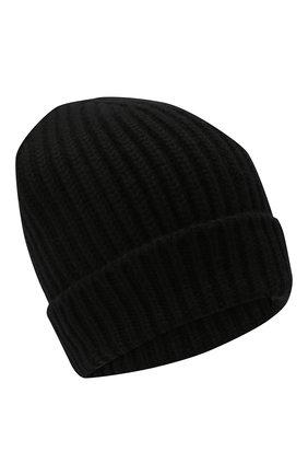 Мужская кашемировая шапка DOLCE & GABBANA черного цвета, арт. GXC77T/JAW5K | Фото 1