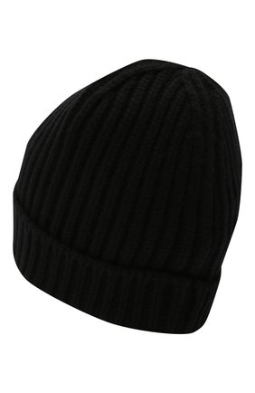 Мужская кашемировая шапка DOLCE & GABBANA черного цвета, арт. GXC77T/JAW5K | Фото 2