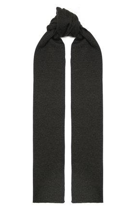 Мужской шарф из кашемира и шелка DOLCE & GABBANA темно-серого цвета, арт. GXC71T/JAM9D | Фото 1