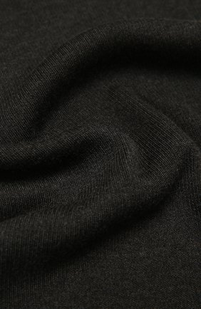 Мужской шарф из кашемира и шелка DOLCE & GABBANA темно-серого цвета, арт. GXC71T/JAM9D | Фото 2