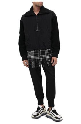 Мужская утепленный анорак DOLCE & GABBANA черного цвета, арт. G9SY9Z/G7WTP | Фото 2