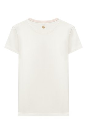 Детская футболка LANVIN белого цвета, арт. N15000 | Фото 2