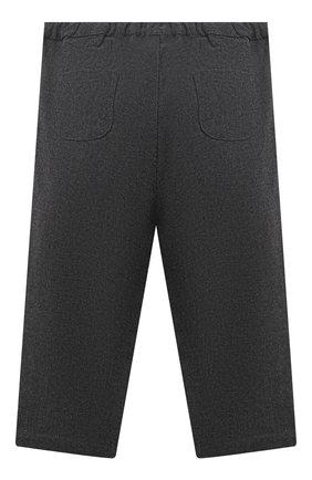 Детские хлопковые брюки LES LUTINS PARIS серого цвета, арт. 20H357/LE0N | Фото 2