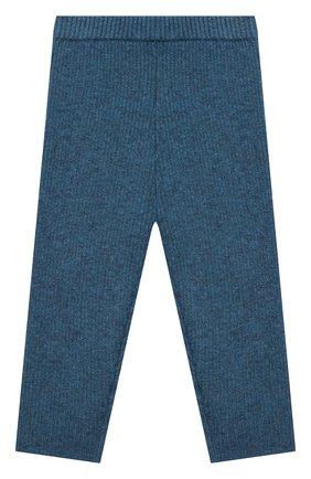 Детские кашемировые брюки LES LUTINS PARIS синего цвета, арт. 20H119/ULYSSE | Фото 1