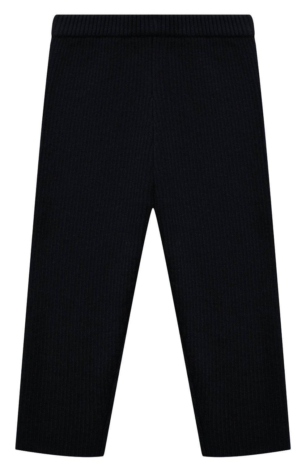 Детские кашемировые брюки LES LUTINS PARIS темно-синего цвета, арт. 20H119/ULYSSE | Фото 1