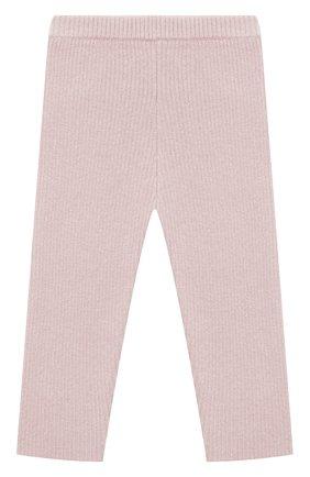 Детские кашемировые брюки LES LUTINS PARIS светло-розового цвета, арт. 20H119/ULYSSE | Фото 2