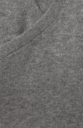 Детский кашемировый кардиган LES LUTINS PARIS серого цвета, арт. 20H093/CAR0LINE | Фото 3