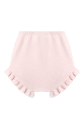Детские кашемировые шорты LES LUTINS PARIS светло-розового цвета, арт. 20H077/AGNES | Фото 2