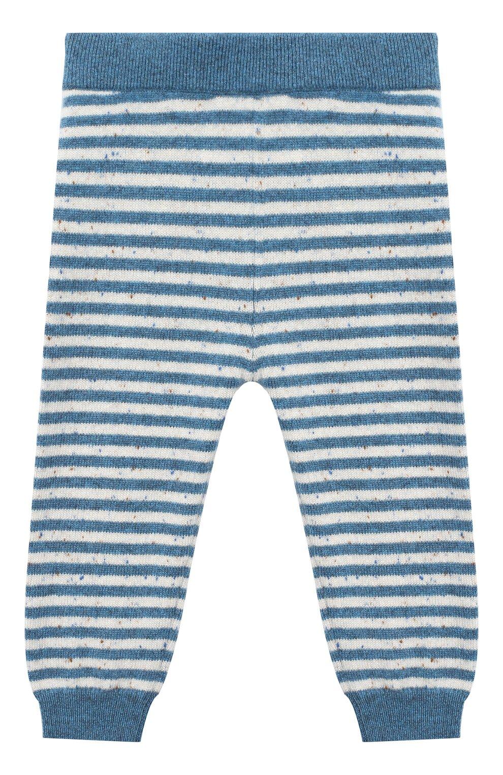 Детские кашемировые брюки LES LUTINS PARIS синего цвета, арт. 20H057/MATHIS | Фото 1