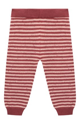 Детские кашемировые брюки LES LUTINS PARIS бордового цвета, арт. 20H057/MATHIS | Фото 1