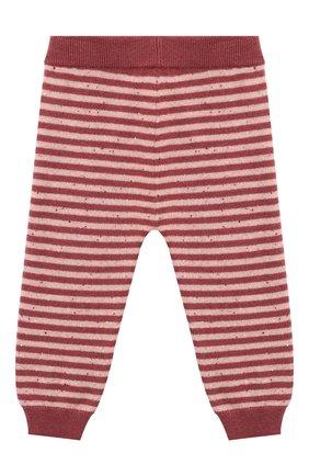 Детские кашемировые брюки LES LUTINS PARIS бордового цвета, арт. 20H057/MATHIS | Фото 2