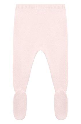 Детские кашемировые ползунки LES LUTINS PARIS светло-розового цвета, арт. 20H003/PEDR0 | Фото 2