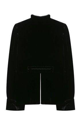 Детский жакет из вискозы DESIGNERS CAT черного цвета, арт. 100000K01000666/10A-12A | Фото 2 (Материал внешний: Вискоза; Рукава: Длинные; Материал подклада: Хлопок; Девочки Кросс-КТ: Жакет-одежда)