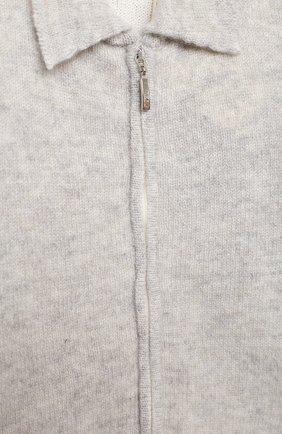 Детский кашемировый комбинезон BABY T серого цвета, арт. 20AIC881TZ/18M-3A | Фото 3
