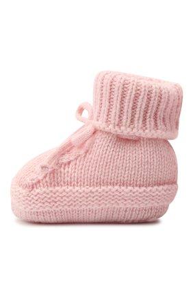 Детские кашемировые носки BABY T розового цвета, арт. 20AIC883SA | Фото 2