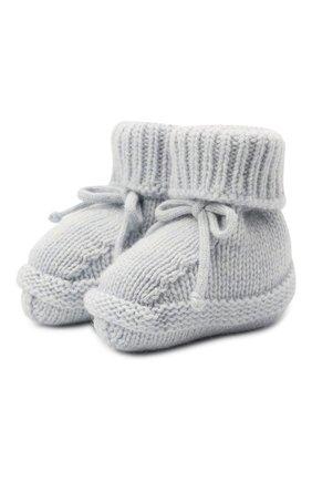 Детские кашемировые носки BABY T голубого цвета, арт. 20AIC883SA | Фото 1
