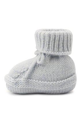 Детские кашемировые носки BABY T голубого цвета, арт. 20AIC883SA | Фото 2