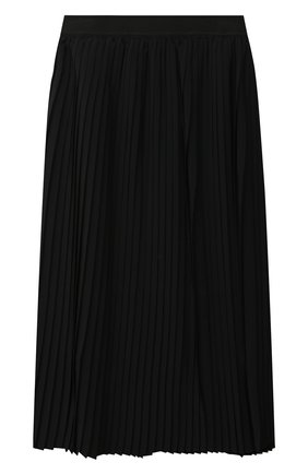 Детская плиссированная юбка MSGM KIDS черного цвета, арт. 025209 | Фото 2