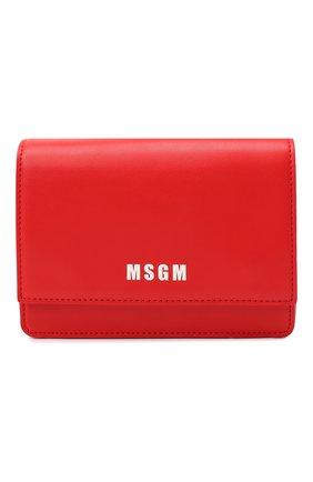 Детская сумка MSGM KIDS красного цвета, арт. 025234 | Фото 1