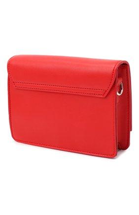 Детская сумка MSGM KIDS красного цвета, арт. 025234 | Фото 2