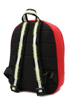 Детская рюкзак MSGM KIDS красного цвета, арт. 025236   Фото 2 (Материал: Текстиль)