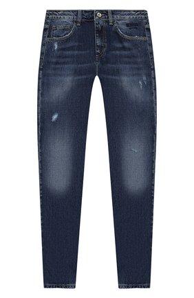 Детские джинсы MSGM KIDS синего цвета, арт. 025934   Фото 1