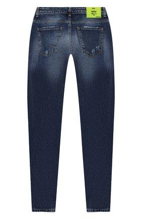 Детские джинсы MSGM KIDS синего цвета, арт. 025934   Фото 2