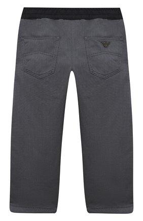 Детские джинсы EMPORIO ARMANI синего цвета, арт. 6H4J20/4N4ZZ   Фото 2