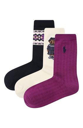 Комплект из трех пар носков   Фото №1