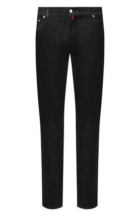 Мужские джинсы KITON черного цвета, арт. UPNJS/J02T63 | Фото 1