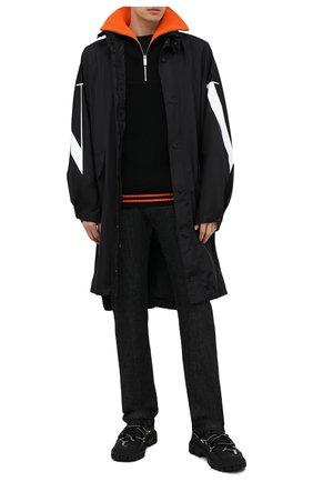 Мужские джинсы KITON черного цвета, арт. UPNJS/J02T63 | Фото 2