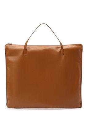 Женский сумка-шопер JIL SANDER коричневого цвета, арт. JSWP850361-WPB00016 | Фото 1