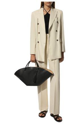 Женский сумка sombrero medium JIL SANDER черного цвета, арт. JSPQ850309-WQB69129V | Фото 2